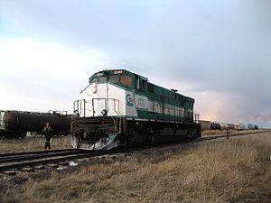 Great Western Railway (Saskatchewan) - Image: Day 3 234