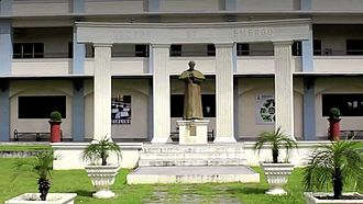 Don Bosco Academy, Pampanga - Statue of Don Bosco