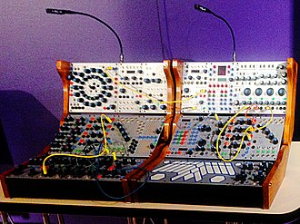 Buchla Electronic Musical Instruments - Buchla 200e (2004–) used by Deadmau5 (exhibited at National Music Centre)