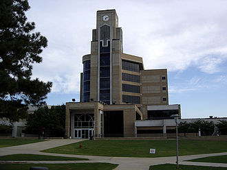 Arkansas State University - View of Arkansas State University Dean B. Ellis Library, Jonesboro, Arkansas