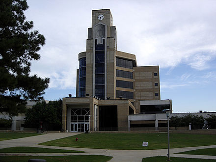 The Dean B. Ellis Library at Arkansas State University's main campus Dean B. Ellis Library, Arkansas State University (3 September 2005).jpg