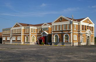 Theodore Link - Image: Decatur, IL train station