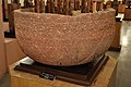 Decorated Bowl with Lotus Petals and Creeper - Kushan Period - Sadar - ACCN 10-97 - Government Museum - Mathura 2013-02-23 5722.JPG