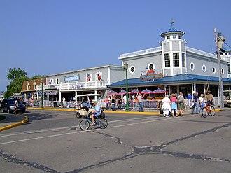 Put-in-Bay, Ohio - Image: Delaware & Hartford Ave, SBI