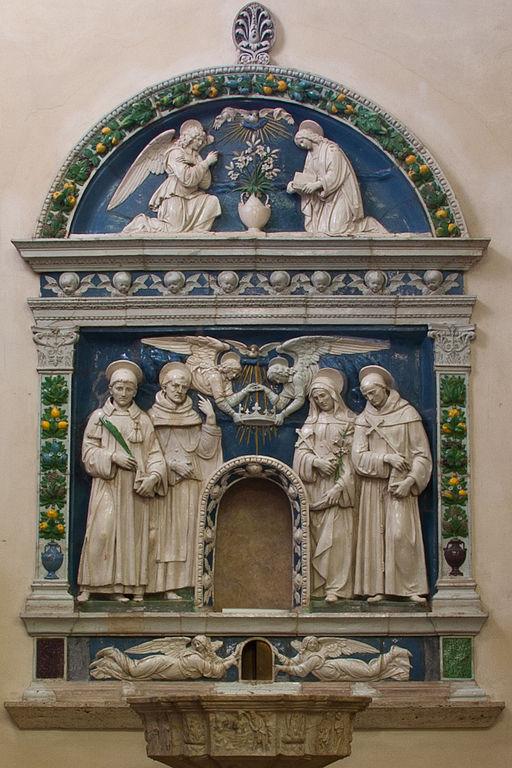 Altare dei Gigli di Andrea Della Robbia (Duomo)