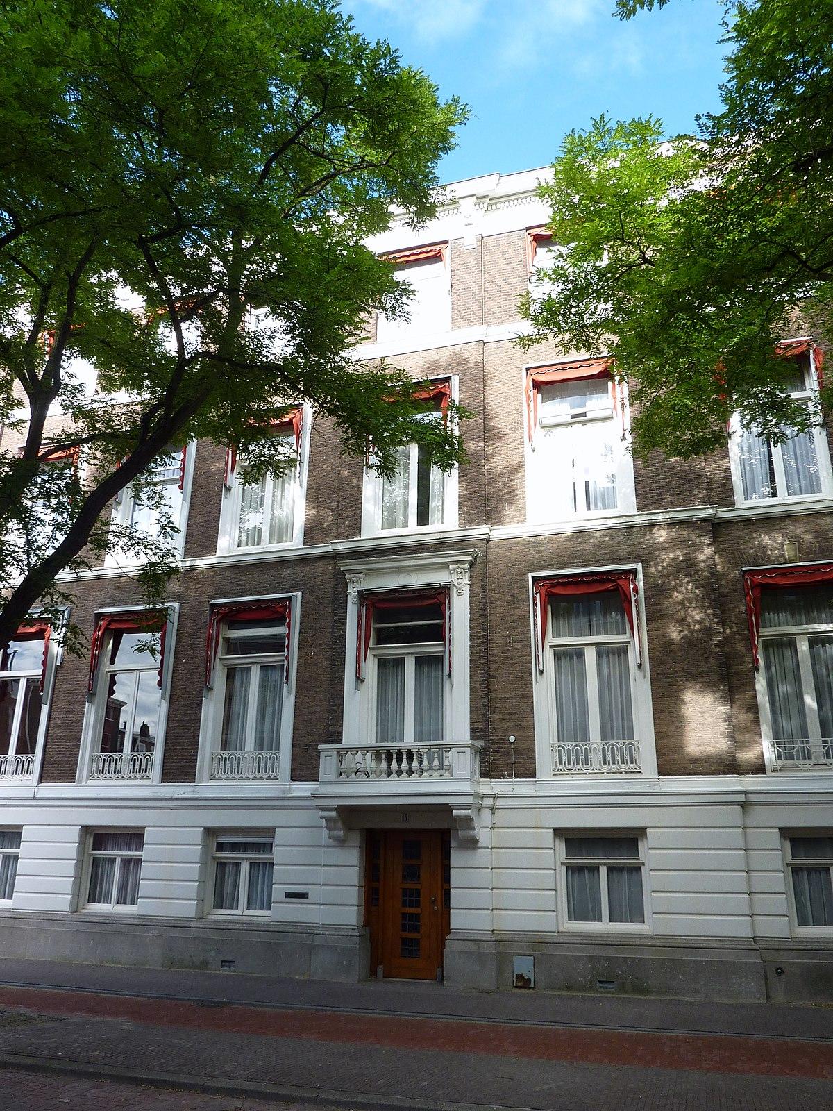 Amaliastraat den haag wikipedia for Bureau 13 den haag