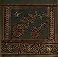 Dendrobium formosum painting on the ceiling of the Natural History Museum, London.jpg