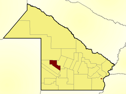 Location of General Belgrano Department in Chaco Province
