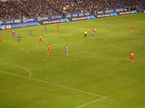 Encuentro disputado entre el Deportivo de La Coruña y el Sevilla FC durante  la temporada 2015 e5fcbceedd20e