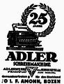 Der Landsmann Bozen ADLER 14 Maerz 1925.png
