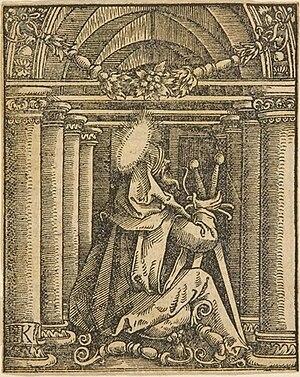 Hans Springinklee - Image: Der heilige Paul mit zwei Schwertern Springinklee