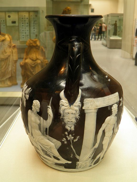Filedetail Junction Of Sides B A Of The Portland Vase Cameo