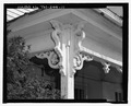 Detail of Victorian porch scroll work looking north - Hammer-Taylor House, 3309 Bristol Highway, Johnson City, Washington County, TN HABS TN-244-11.tif