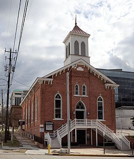 Dexter Avenue Baptist Church church building in Alabama, United States of America