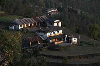 Dhampus Village Development Committee in Gandaki Zone, Nepal