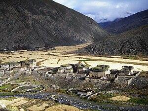 Dho - Image: Dho village Dolpa