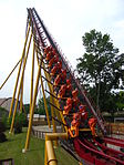 Diamondback train on lift hill.jpg