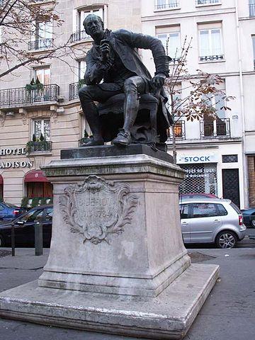 Памятник Дидро в Париже