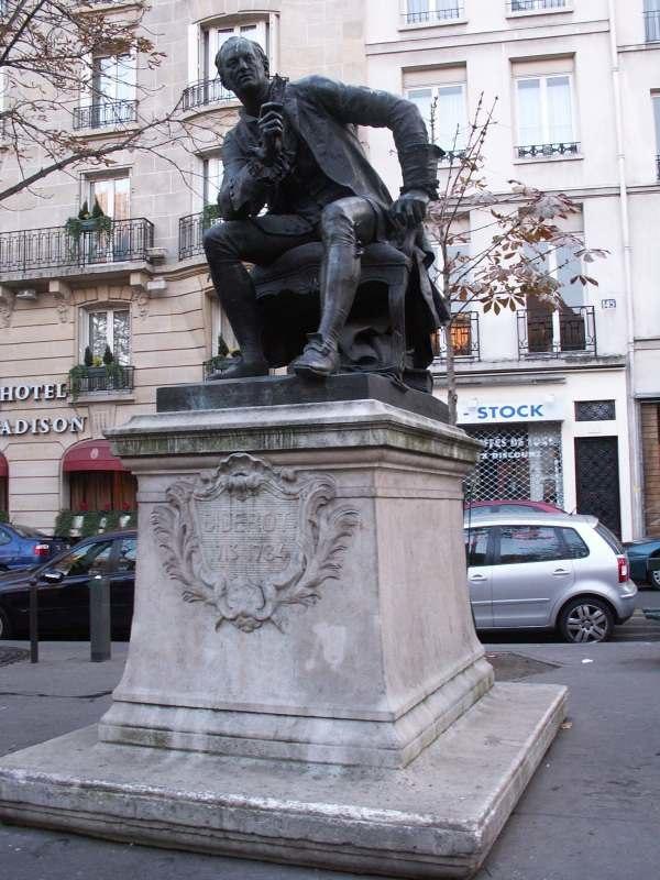 Diderot-statue