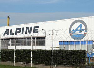 Alpine (automobile) - Alpine factory, Dieppe