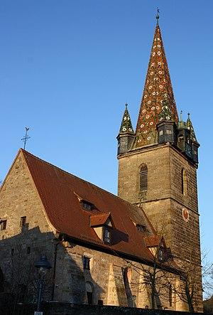 Dietenhofen - Image: Dietenhofen Andreas Kirche