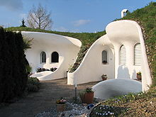 Earth house for Peter vetsch earth house