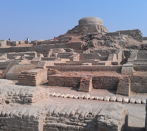 Diffrent view of Stupa and Moenjodaro