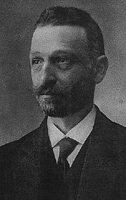 Ο ιδρυτής του κόμματος Δημήτριος Γούναρης