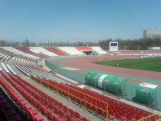 FC Dinamo București - The Dinamo Stadium.