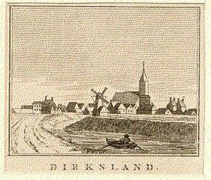 Dirksland - Image: Dirksland Kopergravure