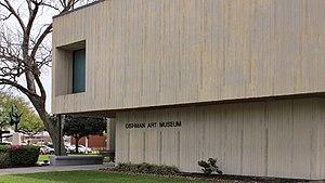 Dishman Art Museum - Image: Dishman Art Museum Beaumont Texas