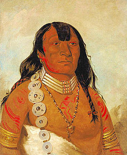 Dohasan 19th century Kiowa chief and calendar-keeper