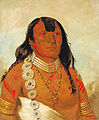 Dohason - head chief of the Kiowa - George Catlin.jpg