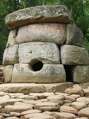 Dolmens of North Caucasus - Dolmen near the Zhane river