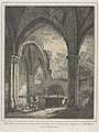 Domenico Quaglio - Notable Buildings of the Middle Ages in Germany- Ruins of the Church of th - 1940.1165 - Cleveland Museum of Art.jpg