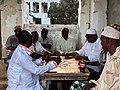 Domino game at Lamu, Kenya.jpg
