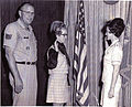 Donna Lakamp USAF induction (6329875040).jpg