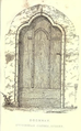 Doorway, Etchingham Church - 'Page Notes on the churches in the counties of Kent, Sussex, and Surrey djvu 279 - Wikisource'.png