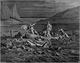 Styx - Etching by Gustave Doré