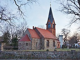This is a picture of the Brandenburger Baudenkmal (cultural heritage monument) with the ID