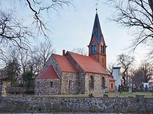 Dorfkirche Großziethen 2018 NE