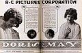 Doris May - Sep 1921 EH.jpg