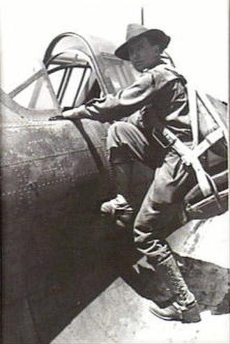 Ivan Dougherty - Dougherty boards an aircraft to undertake a tactical reconnaissance.