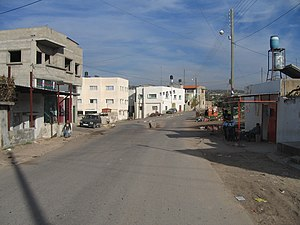 Kafr Jammal - Image: Downtown Kufr Jammal