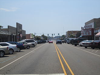 Springhill, Louisiana - Downtown Springhill