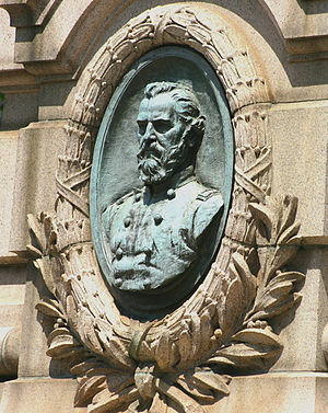 Stephenson Grand Army of the Republic Memorial - Image: Dr. Stephenson and the Grand Army of the Republic