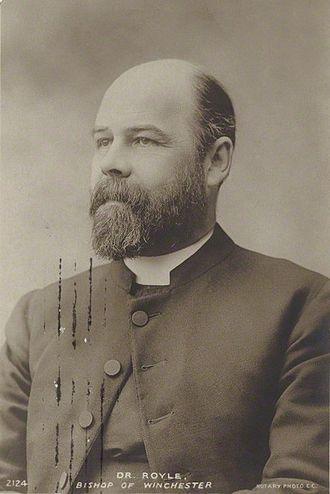 Herbert Edward Ryle - Image: Dr HE Ryle NPG