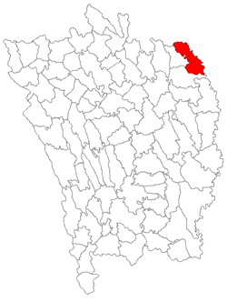 Location of Drânceni