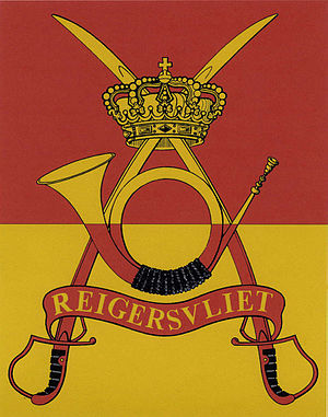 2/4th Chasseurs à Cheval Regiment - Flag of 2nd/4th Regiment Mounted Rifles.