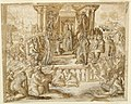 Drawing, Study for a Fresco- Allegory in Honor of Ranuccio Farnese, before 1553 (CH 18109373-2).jpg